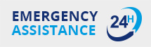 24 h emergency assistance